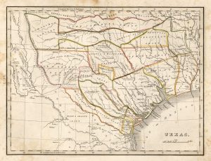 From Comprehensive Atlas, Geographical, Historical and Commercial by Thomas Gamaliel Bradford, 1835. Courtesy Dorothy Sloan-Rare Books, Austin, Texas. From the Perry-Castañeda Library Map Collection.